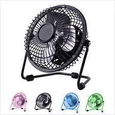 Laptop Desk Fan And Play Usb Ventilator 360 Rotate Metal Mini Fan Portable