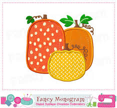 pumpkin applique pumpkin embroidery thanksgiving applique
