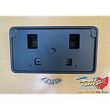 metal fallos ring holder images Oem dodge challenger front license plate bracket jpg
