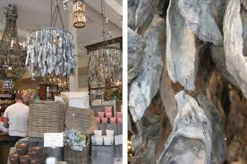 Oyster Chandelier Window Shopping Sweet Savannah Young House Love