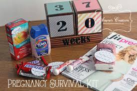 pregnancy gift basket pregnancy survival kit gift basket idea diy home decor and crafts