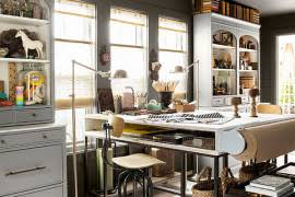 Multipurpose Magic Creating A Smart Home Office And Playroom Combo - Home office design images
