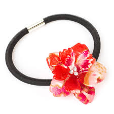 japanese hair accessories cherry blossom japanese hair bobble