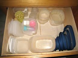 How To Organize Food In Kitchen Cabinets How To Organize Empty Food Storage Containers And Lids 10 Steps