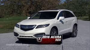 lexus nx200t vs acura rdx 2016 motorweek road test 2016 acura rdx youtube