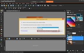 how to change your preferences for the corel update helper