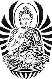 happy buddha tattoo design real photo pictures images and