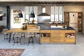 cuisine de loft cuisine style loft cuisine brute en photos cuisine style loft