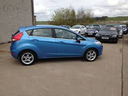 2012 ford fiesta 1 2 zetec 5dr 43500miles in vision blue 5500