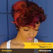 ombre hair color fro african american women fierce red ombre hair color on black hair