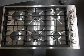 Jenn Air 36 Gas Cooktop Jenn Air Jgc7636bs 36 Stainless Steel 6 Burner Gas Cooktop