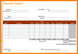 Excel Expense Report Template 9 Expense Report Excel Xavierax