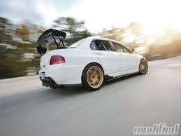 mitsubishi evolution 2005 2005 mitsubishi evolution mr just for kicks modified magazine
