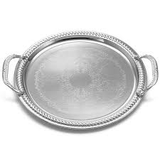 metal platters dining room vollrath reflections stainless steel oblong