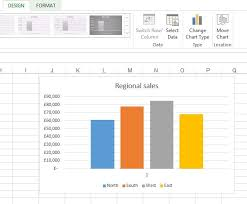 how to split a stacked chart in excel