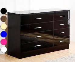 High Gloss Bedroom Furniture by White High Gloss Finish Modern Bedroom W Options Furniture Sale