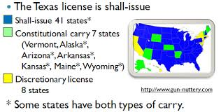 texas ltc reciprocity texas concealed handgun association
