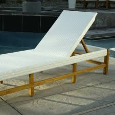 wood sirmione pool lounger world market