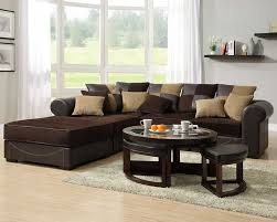 Brown Sectional Sofa With Chaise Living Room Corduroy Modular Sectional Sofa With Chaise And