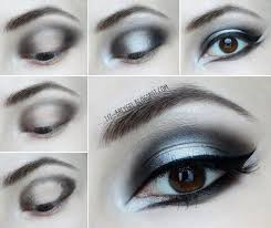 gothic makeup step by step tutorial lizbreygel silver smoky