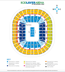 Rogers Centre Floor Plan by 2017 Australian Open Faqs Rod Laver Arena Seating Plan U0026 More
