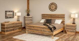 natural wood bedroom furniture modern barn wood bed contemporary rustic bed mountain modern bed