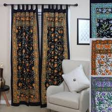 Black Floral Curtains Black Floral Curtains Drapes For Less Overstock