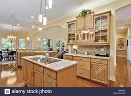 decorating with wood kitchen cabinets modern kitchen home interior with hardwood and wooden