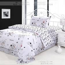 dog print bedding sets cotton bed sheets bedspread kids cartoon