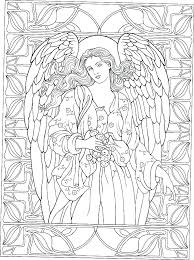 coloring page angel visits joseph coloring pages angels angel blows a horn coloring pages angel wings