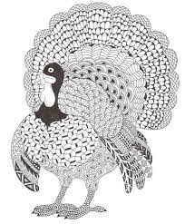 thanksgiving coloring pages for adults craft ideas
