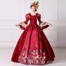 Ball Gown Halloween Costume Red Bubble Venice Carnival Queen Ball Gown Princess Medieval Dress