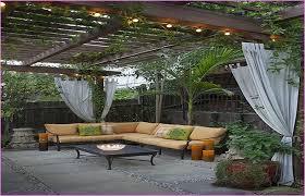 Ideas For Concrete Patio Concrete Patio Fire Pit Ideas Home Design Ideas