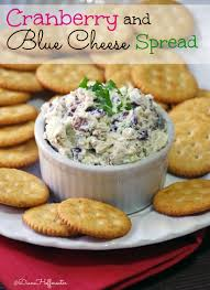 thanksgiving appetizer cranberry and blue cheese spread recipe blue cheese christmas