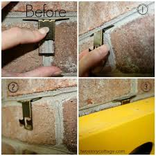 brick clips for christmas lights hang it on brick a simple solution