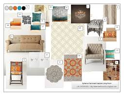 Interior Design Idea Board by A Room With A View Mood Board Link Up