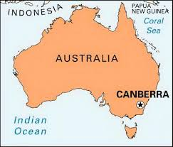 australia map capital cities what is the capital city of australia is it sydney melbourne