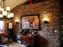The Living Room Boston by House Faux Brick Interior Wall Tiles With Square Black Photo