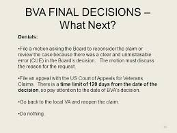 the appeal process barry walter vfw service office ppt download