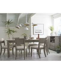 Expandable Dining Room Tables Tribeca Grey Expandable Dining Room Furniture Collection Created