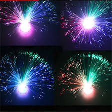 color changing fiber optic lights ebay