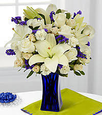 white and blue floral arrangements sympathy flowers funeral gifts flower arrangements from ftd