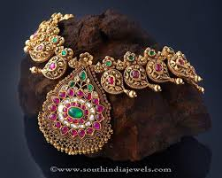 antique emerald necklace images Antique ruby emerald necklace from creations jewellery antic jpg