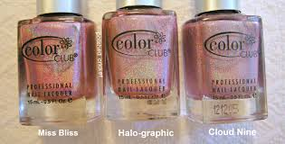 did color club dupe itself halo hues holos pink swatches the