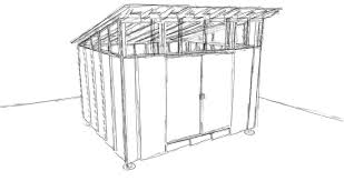 ecclesia domestica design for a storage shed shed roof framing