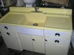 Old Kitchen Sink With Drainboard by Antique Single Bowl Double Drainboard Kitchen Sink