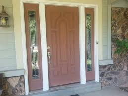 lovely front porch design ideas with dark brown wood single front
