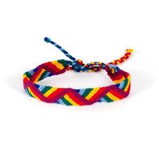 friendship bracelet rainbow images Rainbow zigzag friendship bracelet mayan hands jpeg