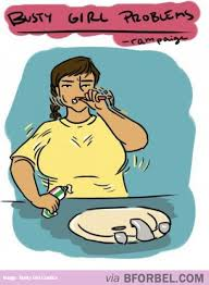 busty girl problems brushing your teeth lulz pinterest humor