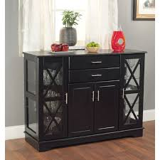 Decorating Dining Room Buffets And Sideboards Sideboards Stunning Glass Front Buffet Sideboard Glass Front